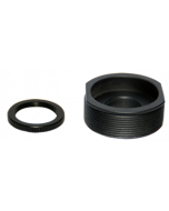 S-Mount (M12 x 0.5) Lens to C-mount adapter