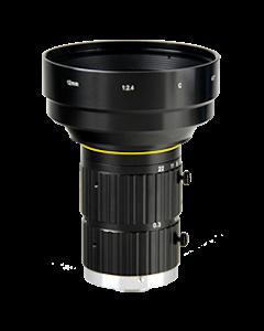 "AZURE Photonics FI-1224MX5M 12mm F2.4 for 4/3"" 5 Megapixel sensor"