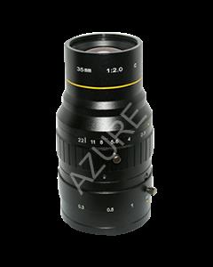 "AZURE Photonics FI-3520MX5M 35mm F2.0 for 4/3"" 5 Megapixel sensor"