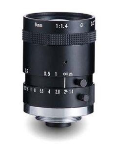 "AZURE Photonics FI-0614M5M 6mm F1.4 for 1/2"" 5 Megapixel sensor"