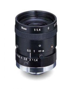 "AZURE Photonics FI-1614M5M 16mm F1.4 for 2/3"" 5 Megapixel sensor"