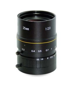 "AZURE Photonics FI-2520ML5M 25mm F2.0 for 1"" 5 Megapixel sensor"