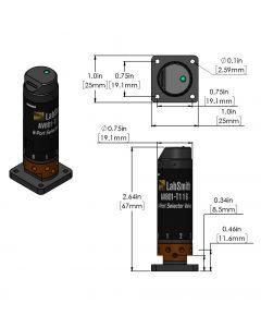 AV801 Automated 8-Port Selector Valve