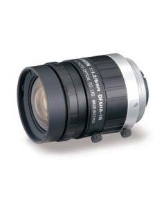 Fujinon 6 mm, manual focus, iris and locking Screws, 1.2 f-stop