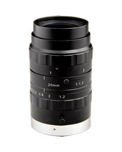 """Azure Photonics 20mm F1.2 1"""" format 10Megapixel Day and Night lens"""