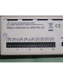 Edaq ER430 high-voltage source