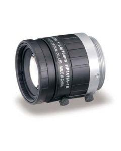 Fujinon 16 mm with manual focus, iris and locking screws, 1.4 f-stop