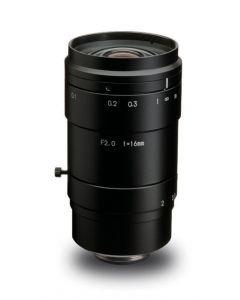 "LM16XC 16 mm, F2.0-22 4/3"", C-Mount  8 Megapixel"