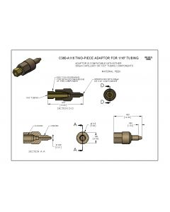 Labsmith two-piece adapters
