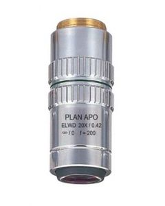 Motic 20X ELWD ICO 0.42 NA, 20 mm WD
