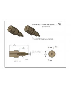 Labsmith one-piece fittings